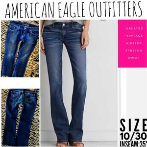 American Eagle Jeans Size 10 Hipster Boot Cut